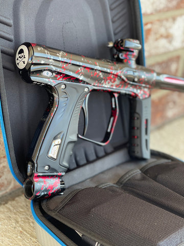 Used Shocker XLS Paintball Gun - Punishers Edition #20