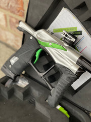 Used Planet Eclipse LV1.1/1.5 Paintball Gun - Silver/Black/Green
