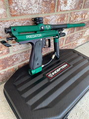 Used Inception Predator Autococker Paintball Marker- Dark Green