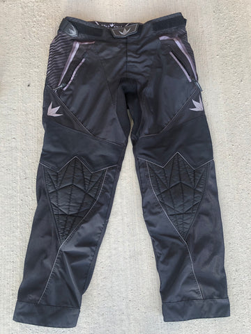 Used Bunker Kings V2 Supreme Paintball Pants - Black - Size XL