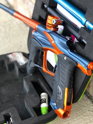 Used Planet Eclipse LV1.1 Paintball Gun - Blue/Orange