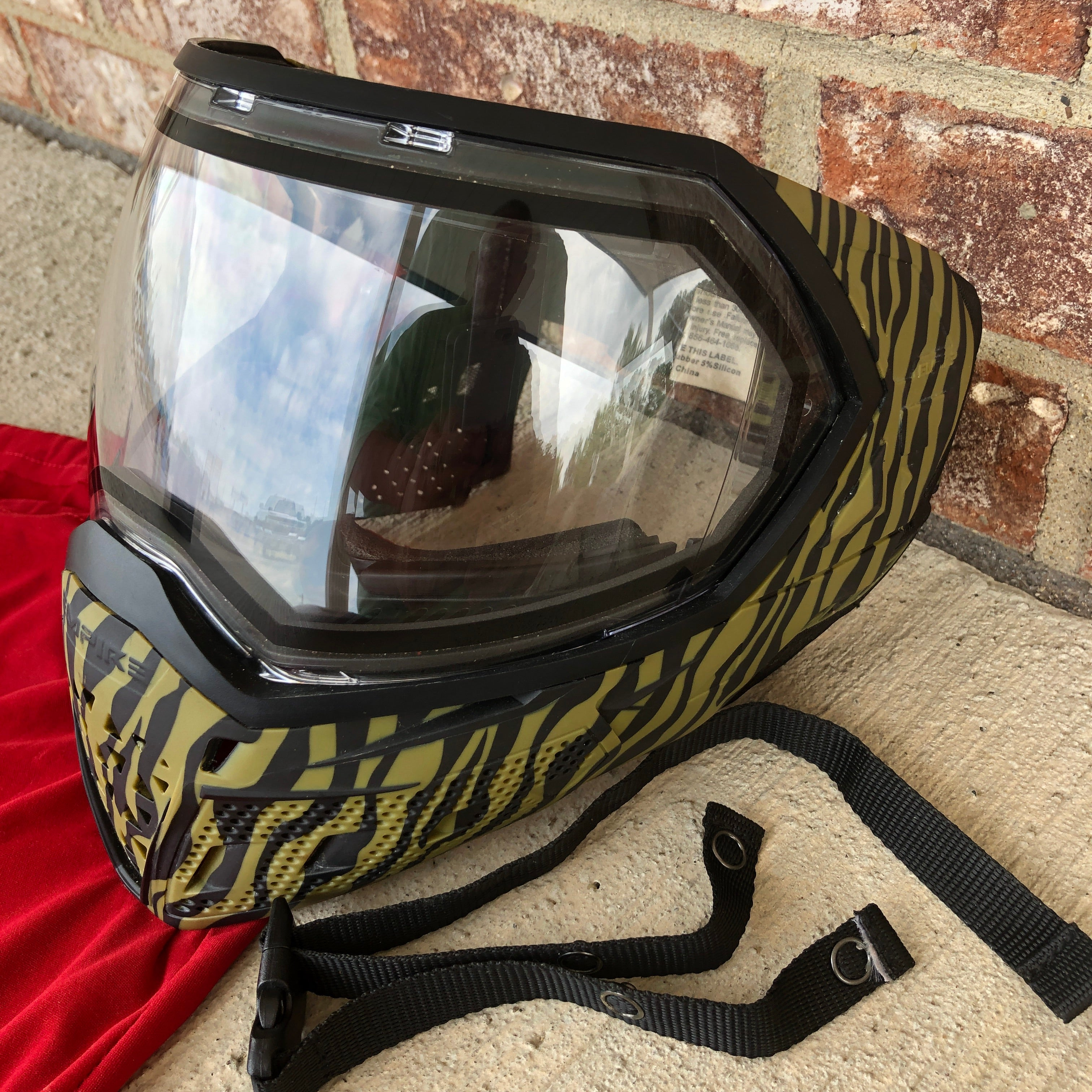 Used Empire EVS Paintball Mask - Tigerstripe