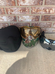 Used Push Unite Paintball Mask- Predator Camo