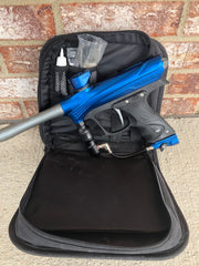 Used Dye Rize Maxxed Paintball Gun - Blue with Gray
