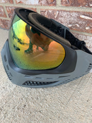 Used Virtue Vio Ascends Paintball Mask- Charcoal