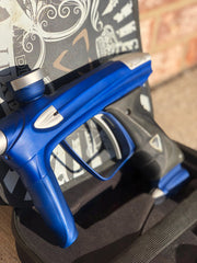 Used DLX Luxe 2.0 Oled Paintball Gun - Blue / Silver