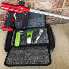 Used Empire Mini GS Paintball Gun - Dust Red/Silver