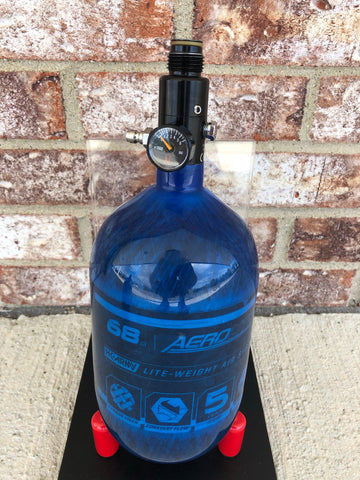 Used HK Army AeroLite 68/4500 Paintball Tank - Blue