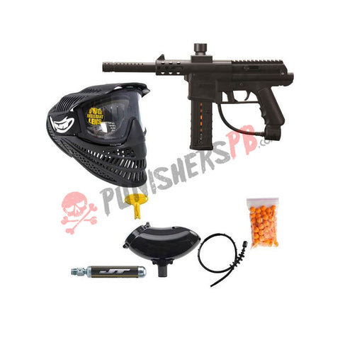 JT DL9 Mag Fed Marker RTP Ready To Play Paintball Package New Starter Beginner