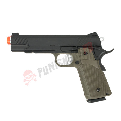 Valken K1911 Gas Full Metal - Black/OD Grip