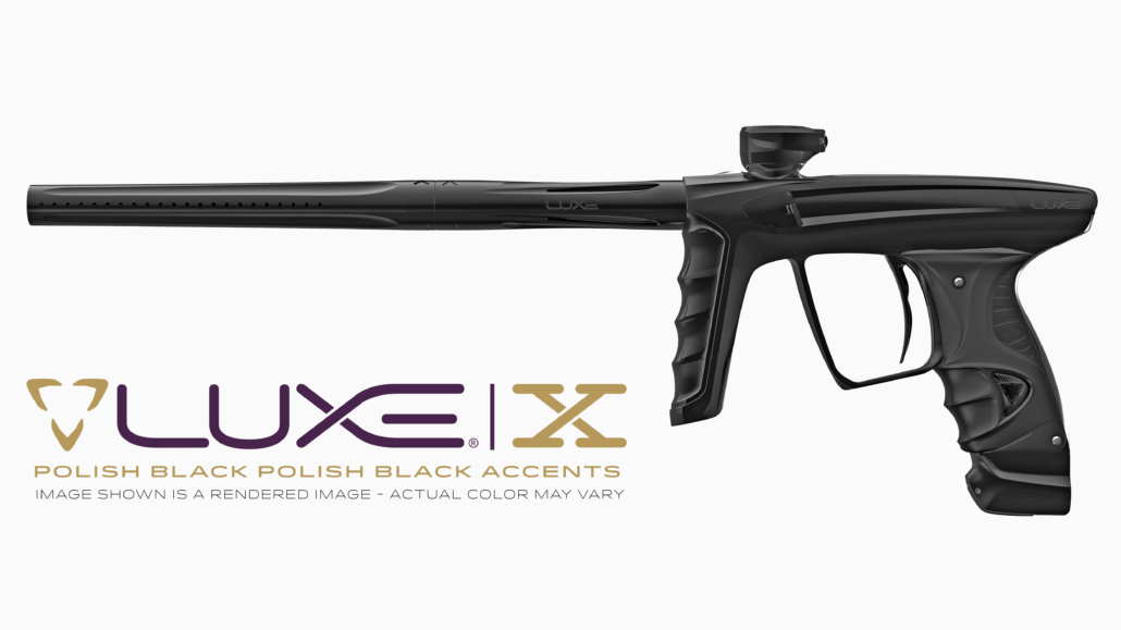 DLX Luxe X Preorder - Polished Black / Polished Black