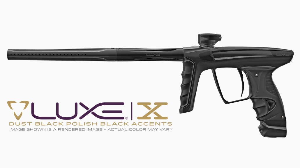 DLX Luxe X - Dust Black / Polished Black