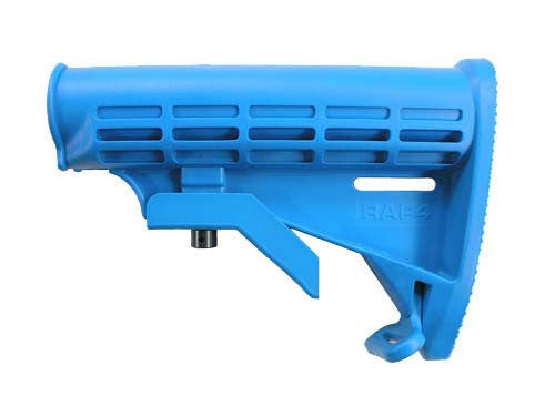 Carbine Butt Stock (Blue) - Punishers Paintball