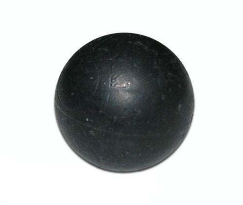 Black Rubber Training Balls (Bottle of 100) - Punishers Paintball