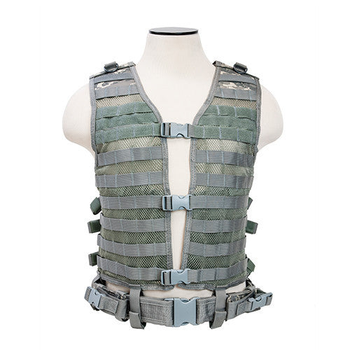 NCStar Pals / MOLLE Tactical Vest - Digital Camo