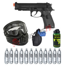 Valken Tactical Semi Auto Airsoft Pistol Starter Kit
