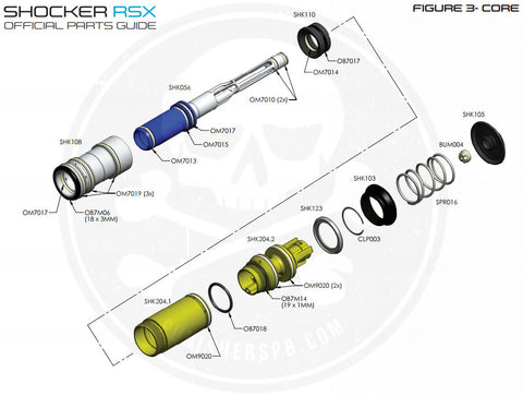 SP Shocker Bolt System Parts List - Pick The Part You Need!