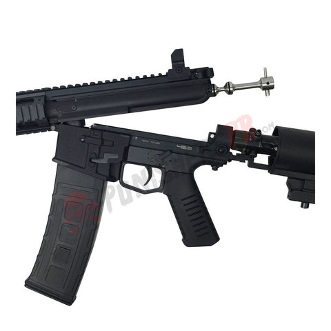 468 RIS Tactical Paintball Gun With SCA Buttstock (No Tank)