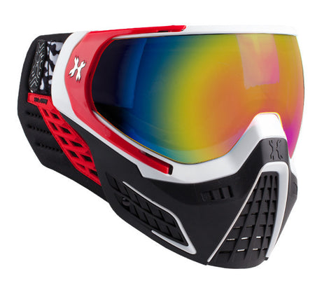 KLR Goggle Scorch (White/Red - Fusion Lens)