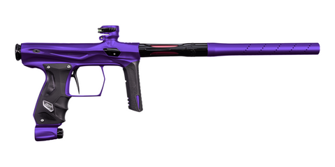 SP Shocker AMP Paintball Gun - Dust Purple / Polished Black