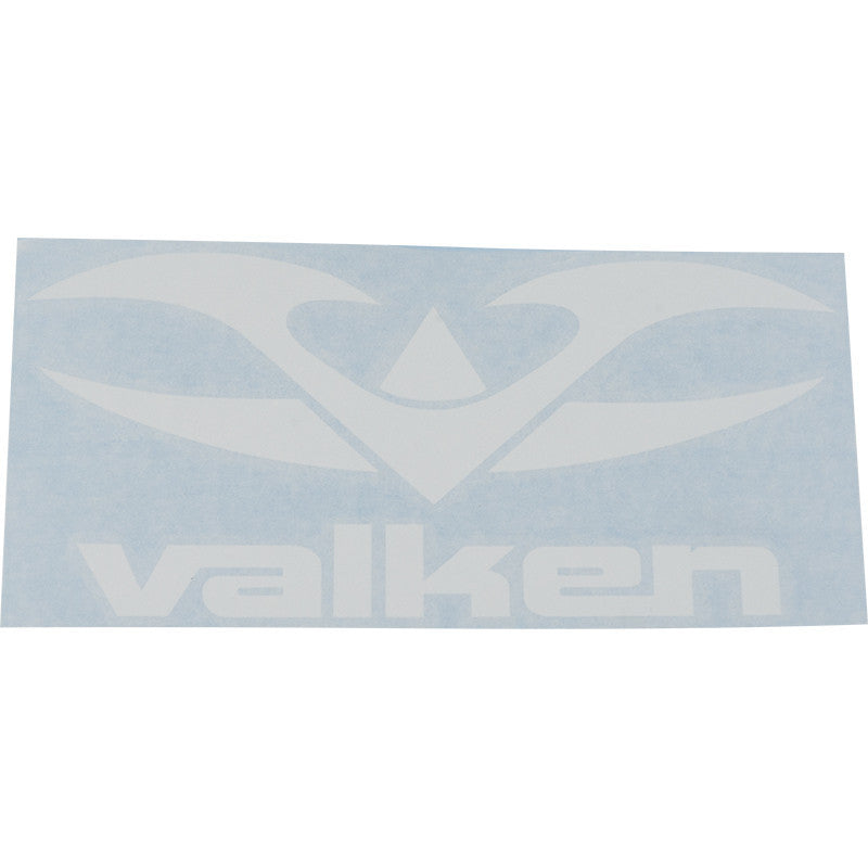 "Decal - V Tactical-White-6"" - Punishers Paintball"