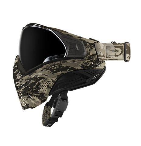 Push Unite Paintball Goggle - Tan Camo