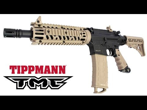 Tippmann TMC Paintball Gun Bundle - Tan