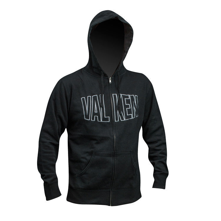 Hoody - Valken Pumped - Black - Punishers Paintball