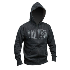 Hoody - Valken Pumped - Grey - Punishers Paintball