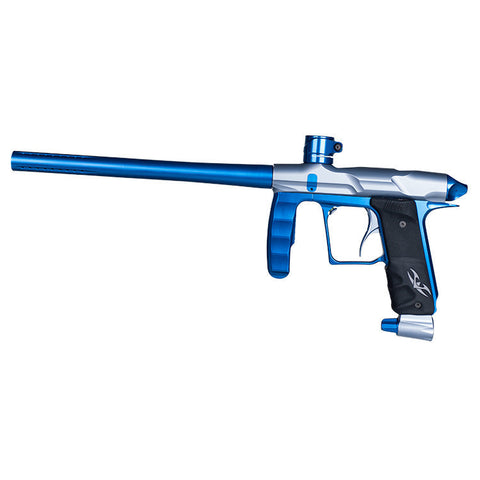 Marker - Valken Proton LE - Grey Dust/Electric Blue - Punishers Paintball
