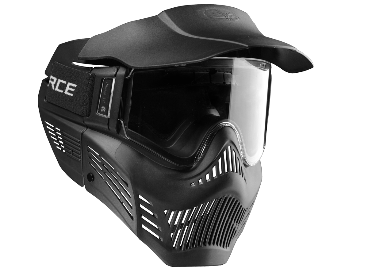 V-Force Armor Paintball Mask - Thermal Black