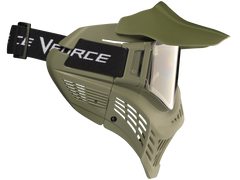 V-Force Armor Paintball Mask - Olive Drab