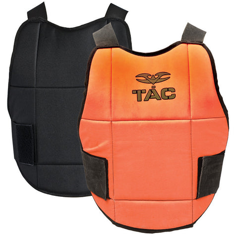 Chest Protector - V-TAC Reversible - Neon Orange/Black - Punishers Paintball