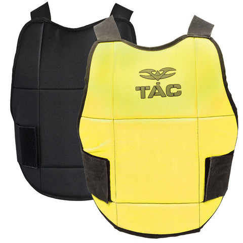 Chest Protector - V-TAC Reversible - Neon Yellow/Black - Punishers Paintball