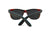Black Maple Wood Sunglasses - Flower of Life