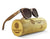 Brown Maple Wood Sunglasses - Flower of Life