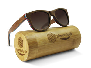 Hammockable Wooden Sunglasses - Brown Maple - Original