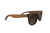 Hammockable Wooden Sunglasses - Brown Maple - Puzzle
