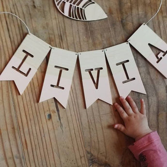 Personalised Name/Word Bunting