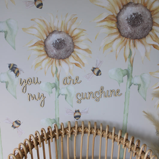 Sunshine Wall Quote