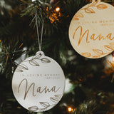 Laurel Memory Christmas Bauble