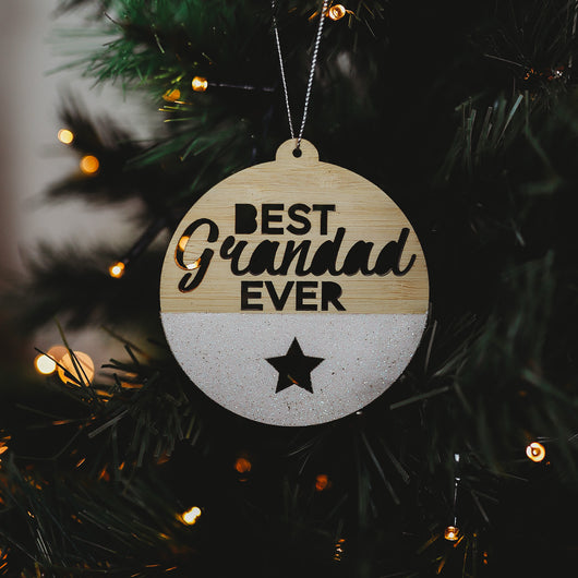 The Best Ever Christmas Bauble