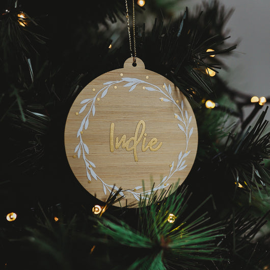 Personalised Christmas Bauble by Tinker Tailor - 2019 Design
