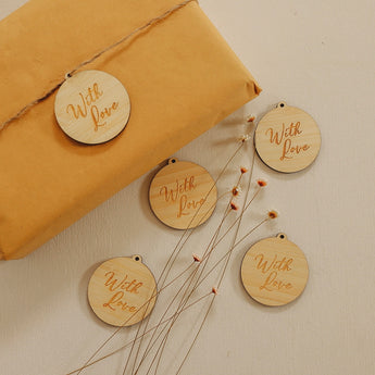 With Love Gift Tags Set