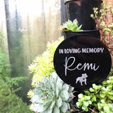 Pets - In Loving Memory Planter