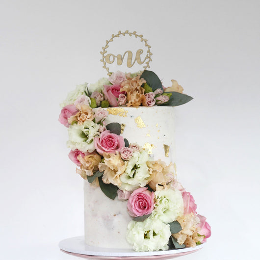Vine Personalised Cake Topper