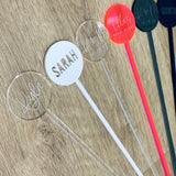 Personalised Swizzle Sticks (Pk of 5)