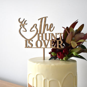 Wedding Hunt Cake Topper (other colours available)