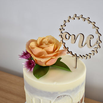 One Vine Cake Topper (other colours available)