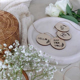 Hello Gift Tag Set of 4